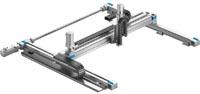 El pórtico tridimensional YXCR es uno de los cuatro tipos de sistemas cinemáticos de HGO.